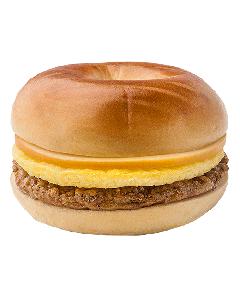Plain Bagel Sandwich
